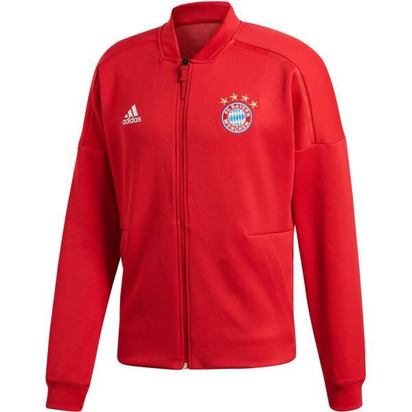 """ADIDAS Herren Fußball Sweatjacke """"FC Bayern München Anthem Home Z.N.E Jacket"""""""