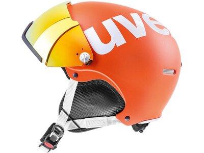 "UVEX Skihelm ""hlmt 500 Visor"" Orange"