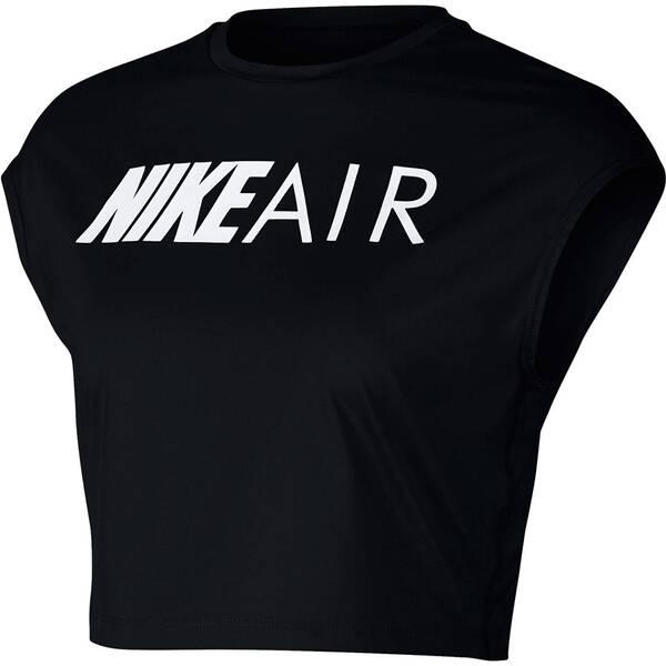 """NIKE Damen Laufshirt """"Air"""" Kurzarm Cropped"""