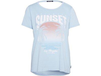 CHIEMSEE T-Shirt mit Cut- Outs am Rücken - GOTS zertifiziert Blau