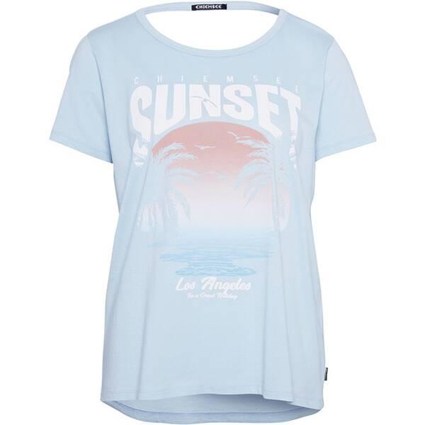 CHIEMSEE T-Shirt mit Cut- Outs am Rücken - GOTS zertifiziert