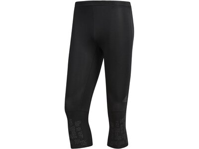 ADIDAS Herren Supernova 3/4-Tight Schwarz