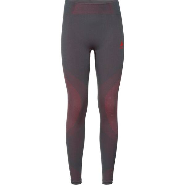 ODLO Damen Funktionsunterhose SUW Bottom Performance Warm | Sportbekleidung > Funktionswäsche > Thermoleggings | Gray - Pink | ODLO