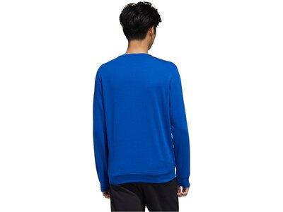 "ADIDAS Herren Sweatshirt ""Essential Tape Shirt"" Blau"
