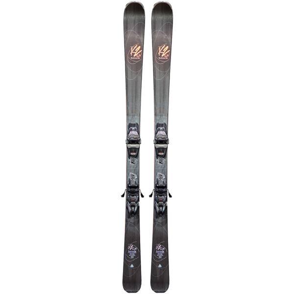"""K2 Damen Slalomskier """"Burning Luv 74"""" inkl. Bindung """"Marker ER3 10"""""""