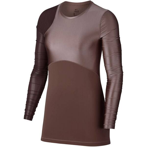 NIKE Damen Trainingsshirt HyperCool Langarm