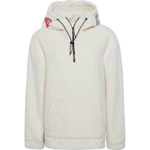 CHIEMSEE Oversize Sweatshirt mit Logo an der Kapuze