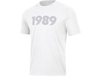JAKO Herren T-Shirt 1989 Weiß