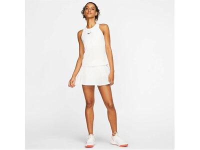 NIKE Damen Tennisshirt Ärmellos Weiß
