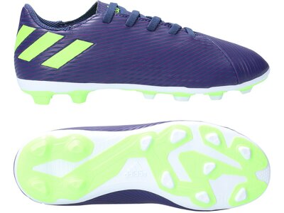 ADIDAS Fußball - Schuhe Kinder - Nocken NEMEZIZ Messi 19.4 FxG J Kids Grau