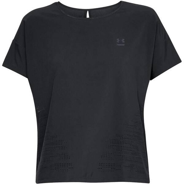 UNDERARMOUR Damen Trainingsshirt Perpetual Woven Kurzarm