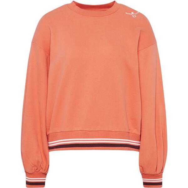 CHIEMSEE Sweatshirt mit weiten Ärmeln und Rückenprint - GOTS zertifiziert