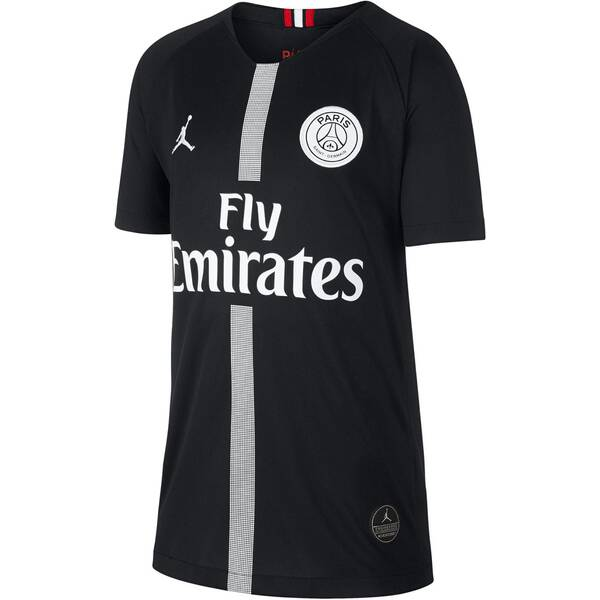 NIKE Kinder Fußballtrikot Breathe Paris Saint-Germain Stadium Kurzarm