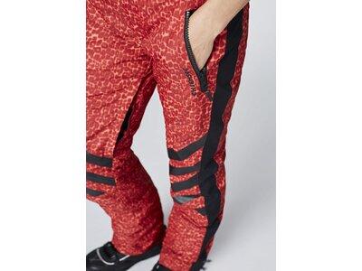 CHIEMSEE Skihose im sportlichen Allover Design Rot