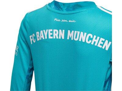 "ADIDAS Kinder Torwarttrikot ""FC Bayern München Home Saison 2020/2021"" Replica Blau"
