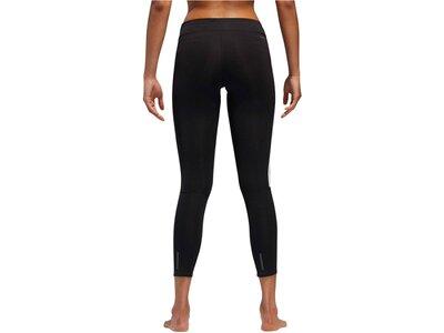 adidas Damen Running 3-Streifen Tight Schwarz