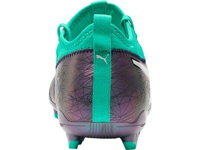 PUMA Fußball - Schuhe - Nocken ONE 3 IL Leder FG Grau