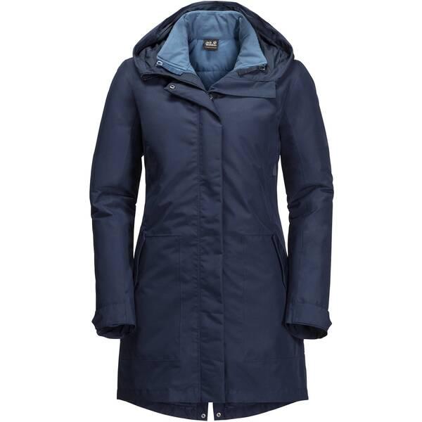 JACK WOLFSKIN Damen Doppeljacke Monterey Bay Coat