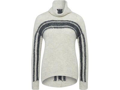 CHIEMSEE Oversize Strickpullover aus Mohair-Merino-Qualität Weiß