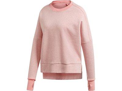 "ADIDAS Damen Fitness-Sweater ""Versatility"" Pink"