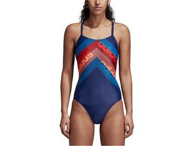 "ADIDAS Damen Badeanzug ""Fitness Training Suit Lineage"" Braun"