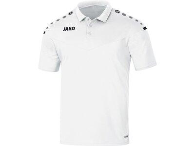 JAKO Herren Polo Champ 2.0 Weiß