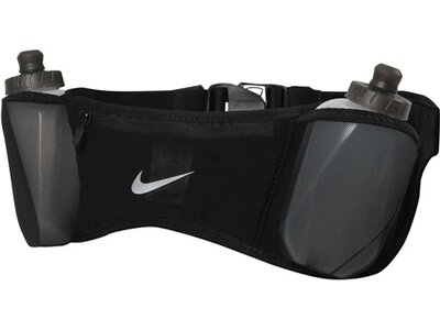 "NIKE Laufgürtel ""Double Pocket Flask Belt 20"" Schwarz"
