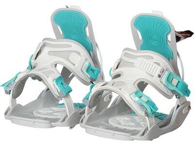 "FLOW Damen Snowboardbindung ""Haylo"" Silber"