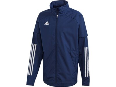 ADIDAS Fußball - Teamsport Textil - Allwetterjacken Condivo 20 Allwetterjacke Jacke Blau