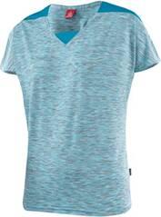"LÖFFLER Damen Radshirt ""V-Shirt Rainbow CF"" Kurzarm"