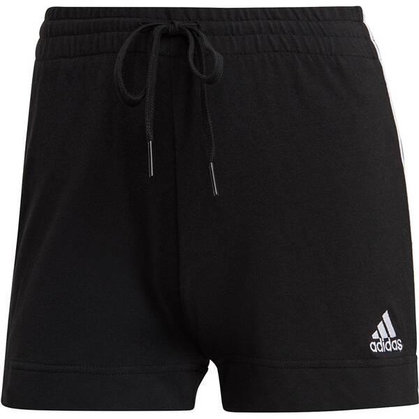 Hosen - ADIDAS Damen Shorts Slim Fit › Schwarz  - Onlineshop Intersport
