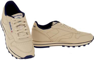 REEBOK Damen Sneaker Classic Leather ecru