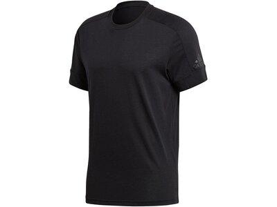 ADIDAS Herren T-Shirt ID Stadium Schwarz