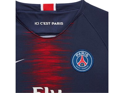 "NIKE Kinder Fußballtrikot ""Breathe Paris Saint-Germain Home Stadium"" Kurzarm Blau"