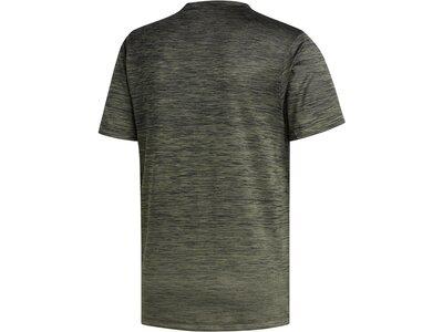 "ADIDAS Herren Trainingsshirt ""Gradient Tee"" Grau"