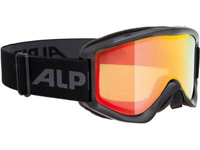 "ALPINA Skibrille / Snowboardbrille ""Smash 2.0 MM"" Schwarz"