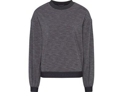 CHIEMSEE Fleece Pullover im Oversize Look Schwarz