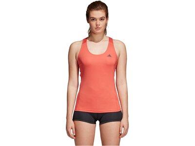 ADIDAS Damen Tanktop Alphaskin Sport Orange