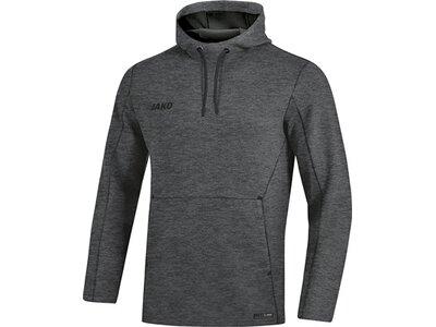 JAKO Herren Kapuzensweat Premium Basics Grau