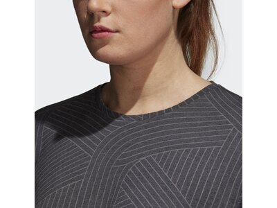 ADIDAS Damen T-Shirt FreeLift Climalite Aeroknit Schwarz