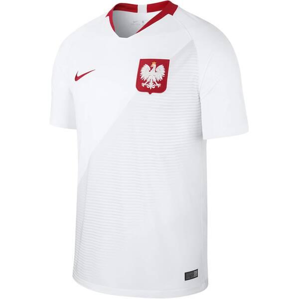 NIKE Herren Fußballtrikot Poland Stadium Home WM 2018