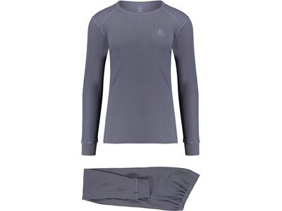 "ODLO Herren Funktions-Wäscheset ""Active Sports Underwear Warm"" Grau"
