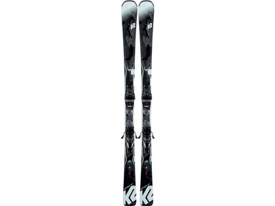 "K2 Damen Skier ""Anthem 74 HS"" inkl. Bindung ""ER3 10 Compact Quikclik"" Schwarz"