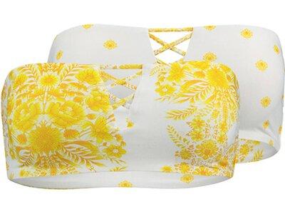 "SEAFOLLY Wende-Bandeau-Bikini ""Sunflower"" Gelb"