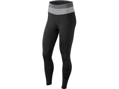 NIKE Damen Trainingstights 7/8-Länge Schwarz
