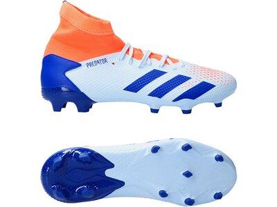 ADIDAS Fußball - Schuhe - Nocken Predator Uniforia 20.3 FG Blau