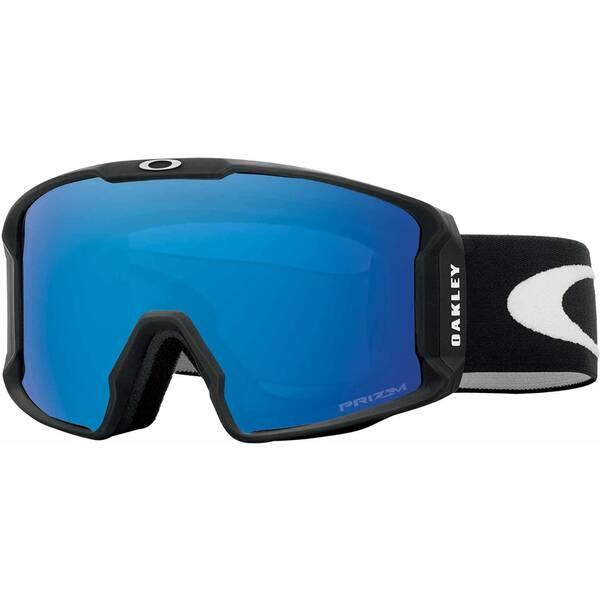 OAKLEY Skibrille Line Miner Schwarz