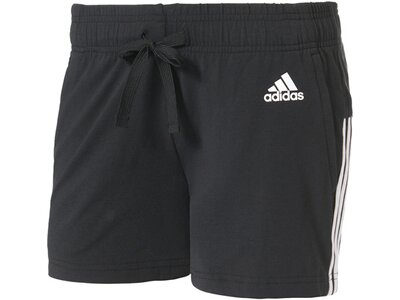 ADIDAS Damen Trainingsshorts Essentials 3 Stripes Braun