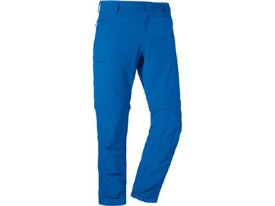 SCHÖFFEL Herren Outdoor-Zipp-Off-Hose Folkstone Blau