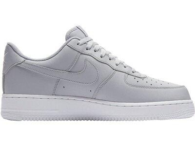 """NIKE Herren Sneaker """"Air Force 1 '07"""" Silber"""
